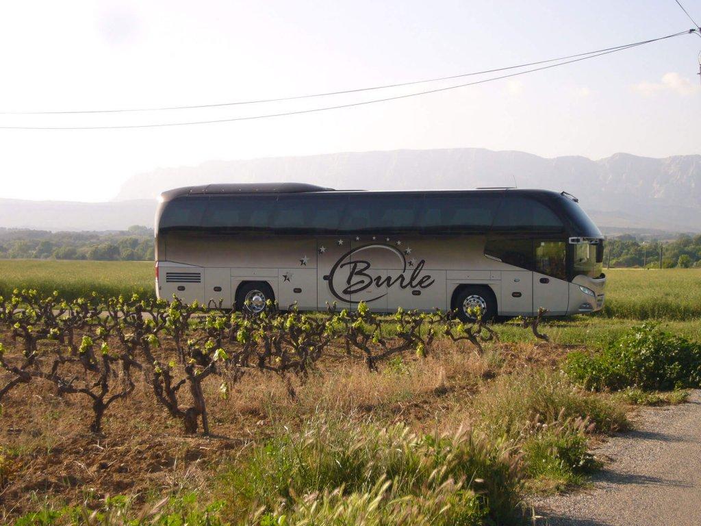 autocars Pays d'Aix location Autocars Burle