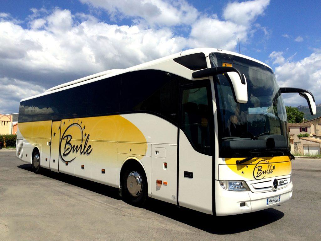 transfert gare hôtel autocars Bouches-du-Rhône Autocars BURLE