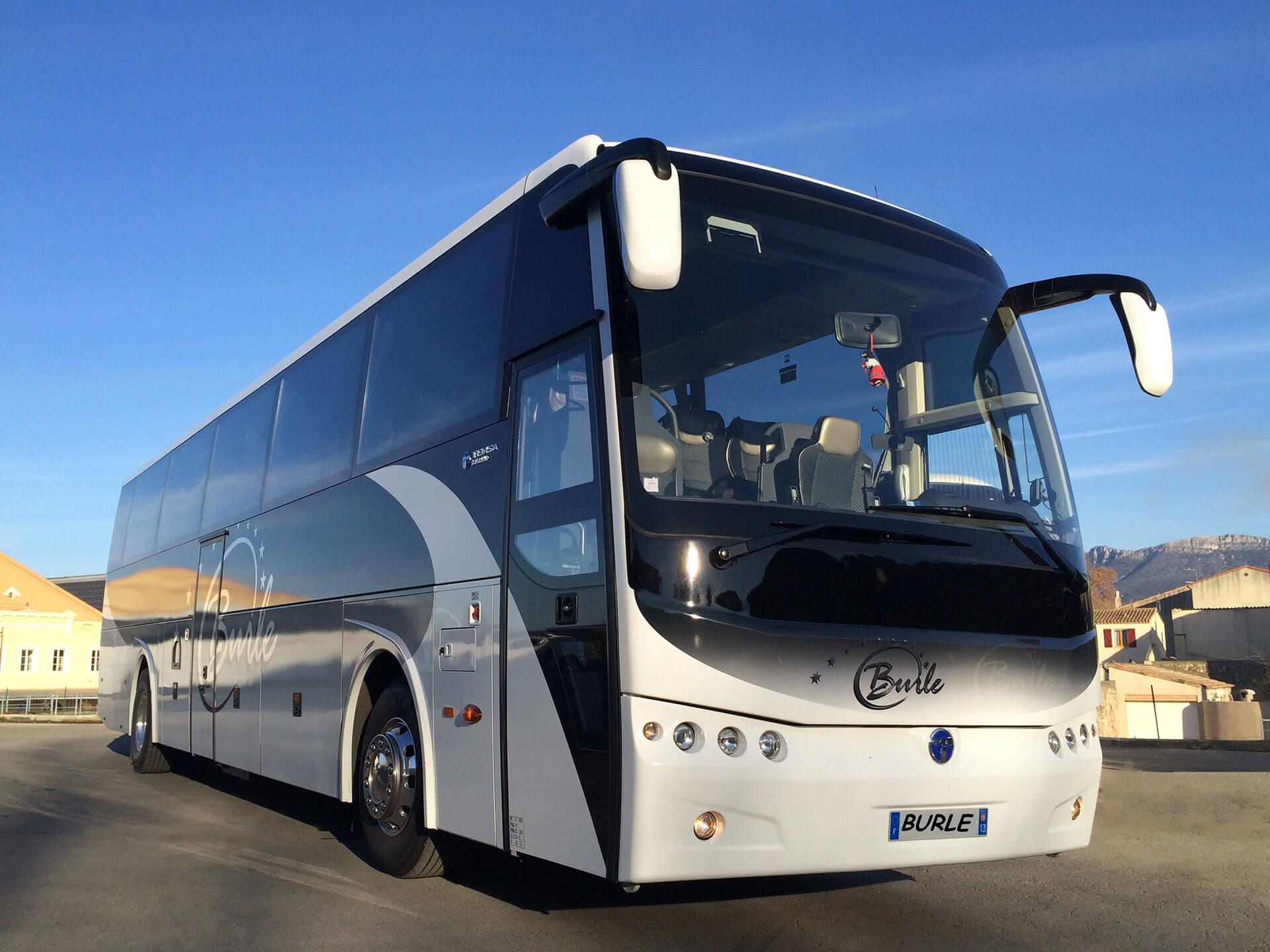 transfert aéroport autocars Aix-en-Provence Autocars BURLE