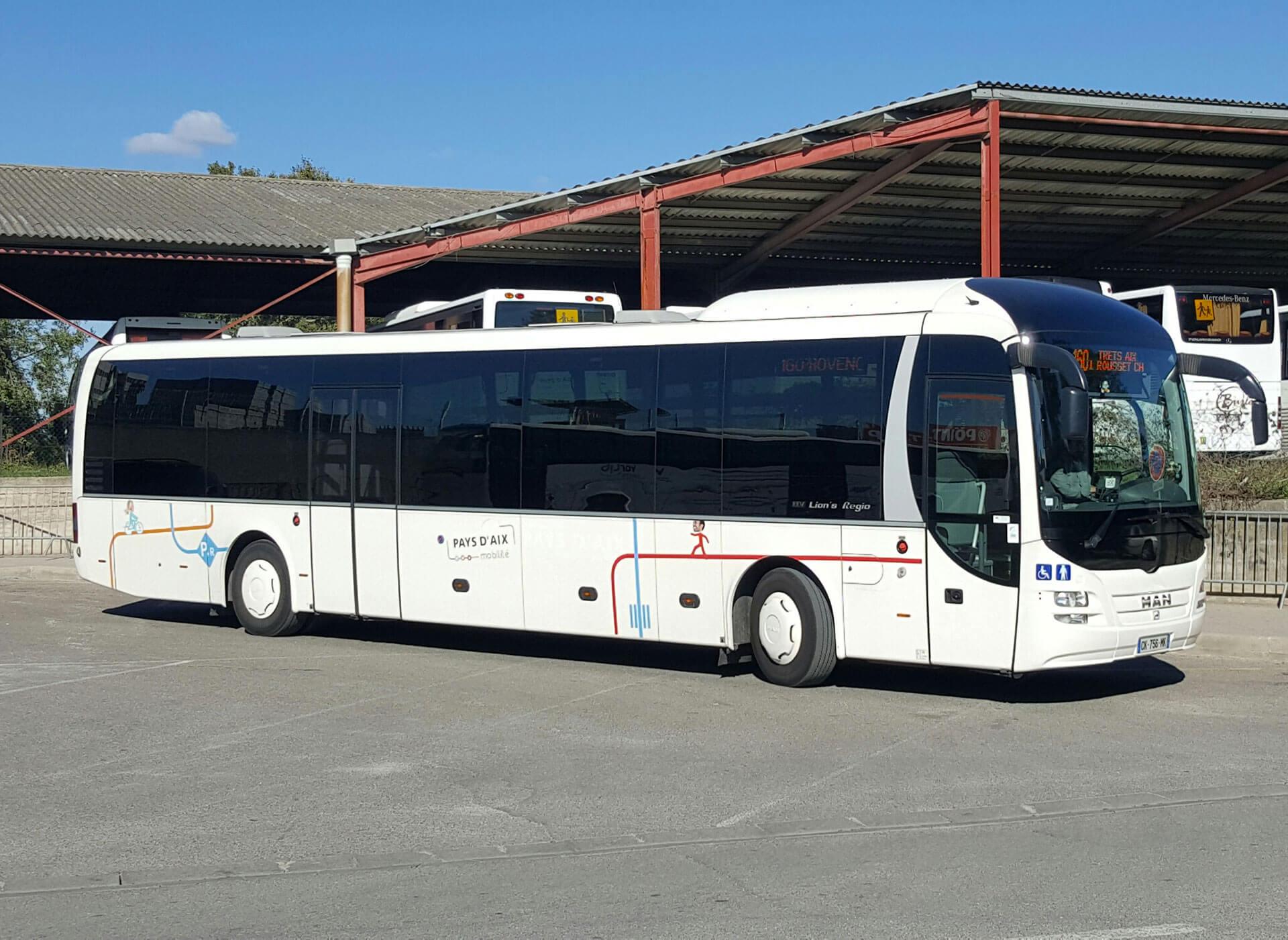 Lignes Régulières et scolaire Pays d'Aix Autocars BURLE