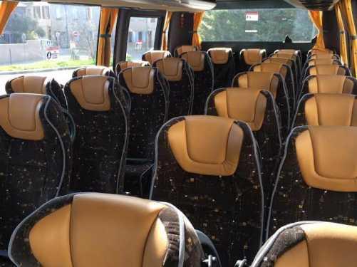 intérieur bus Autocars Burle Aix-en-Provence